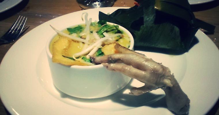 Zupa singapurska zpastą laksa