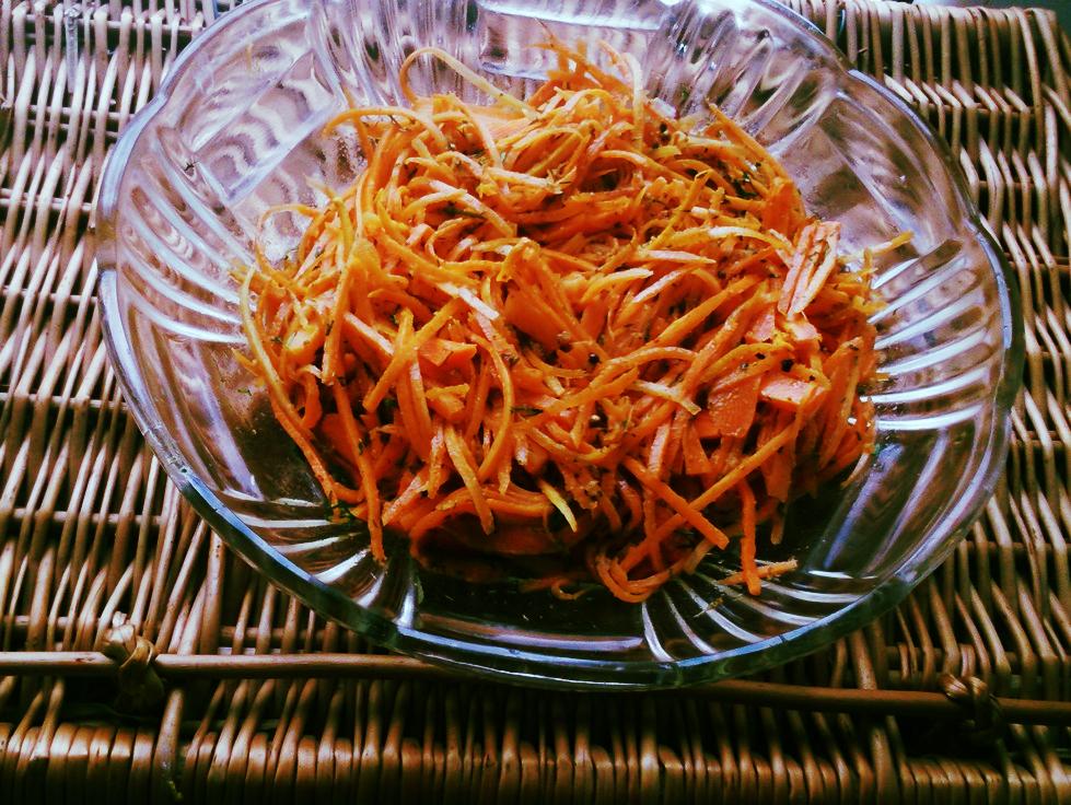 Pikantna marchewka pokoreańsku