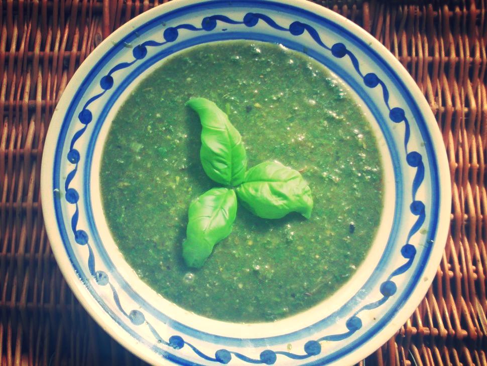 Zupa z pokrzyw
