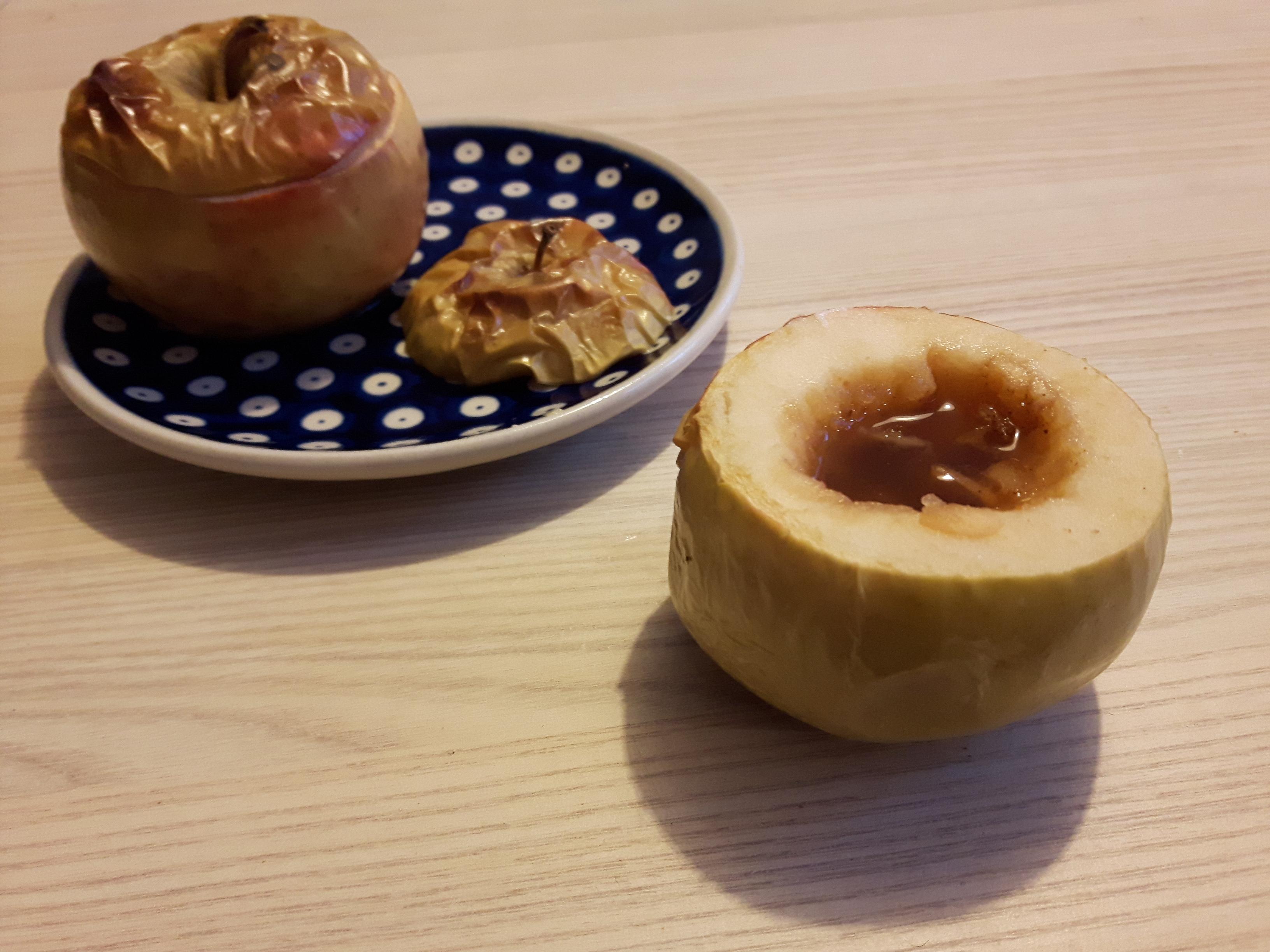 Pijane pieczone jabłka