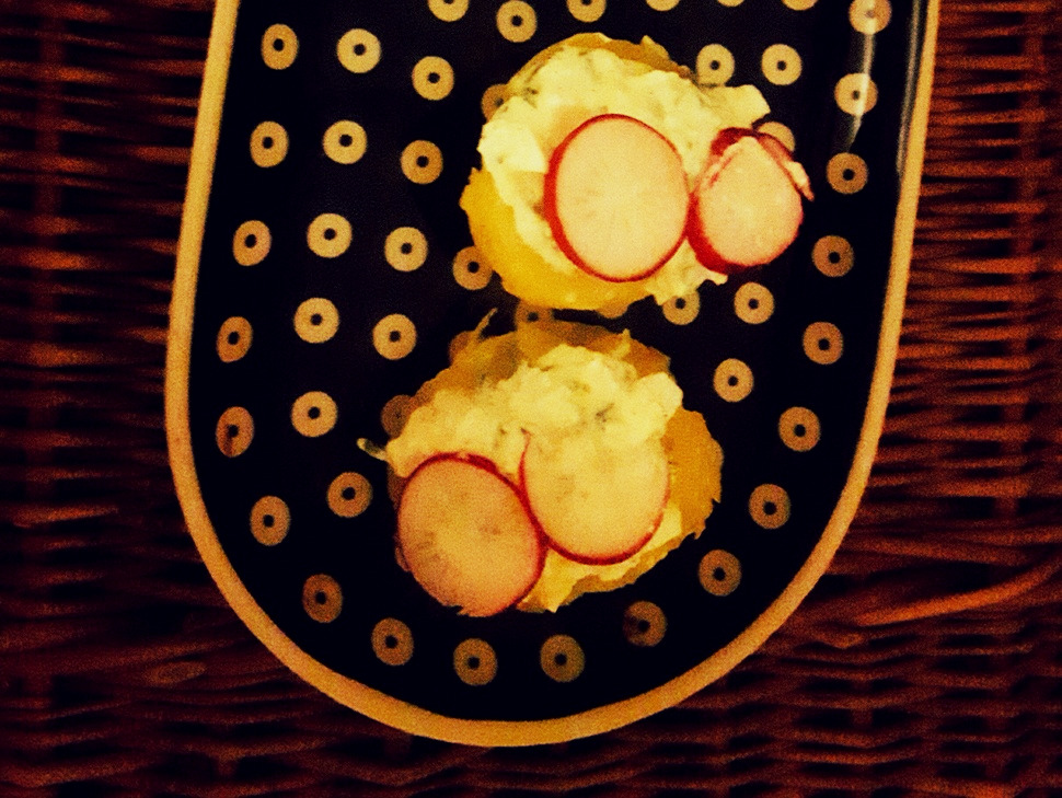 Gzik – ziemniaki z pastą jajeczną