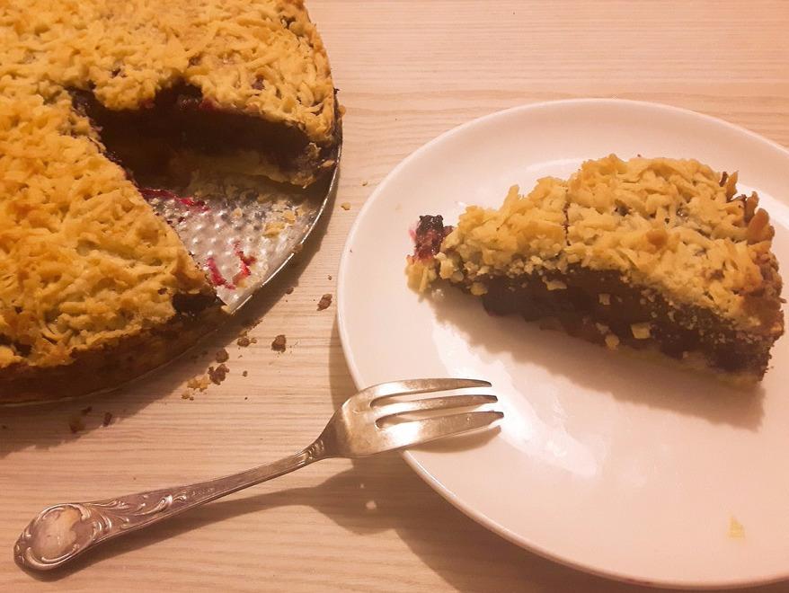 Pleśniak – kruche ciasto porzeczkowe