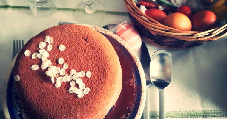 Pascha czekoladowa ze śliwkami