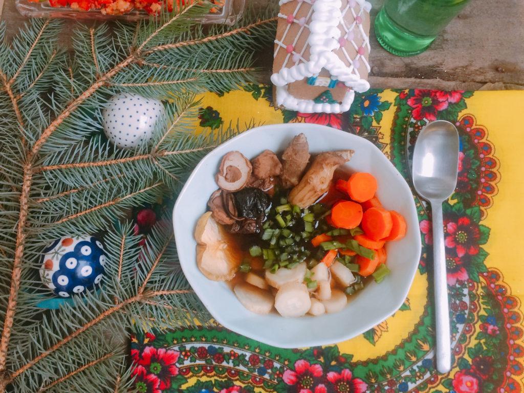 Zupa grzybowa z topinamburem