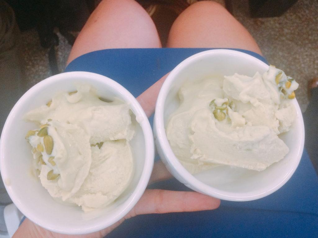 Pikantne lody guacamole z tabasco i awokado