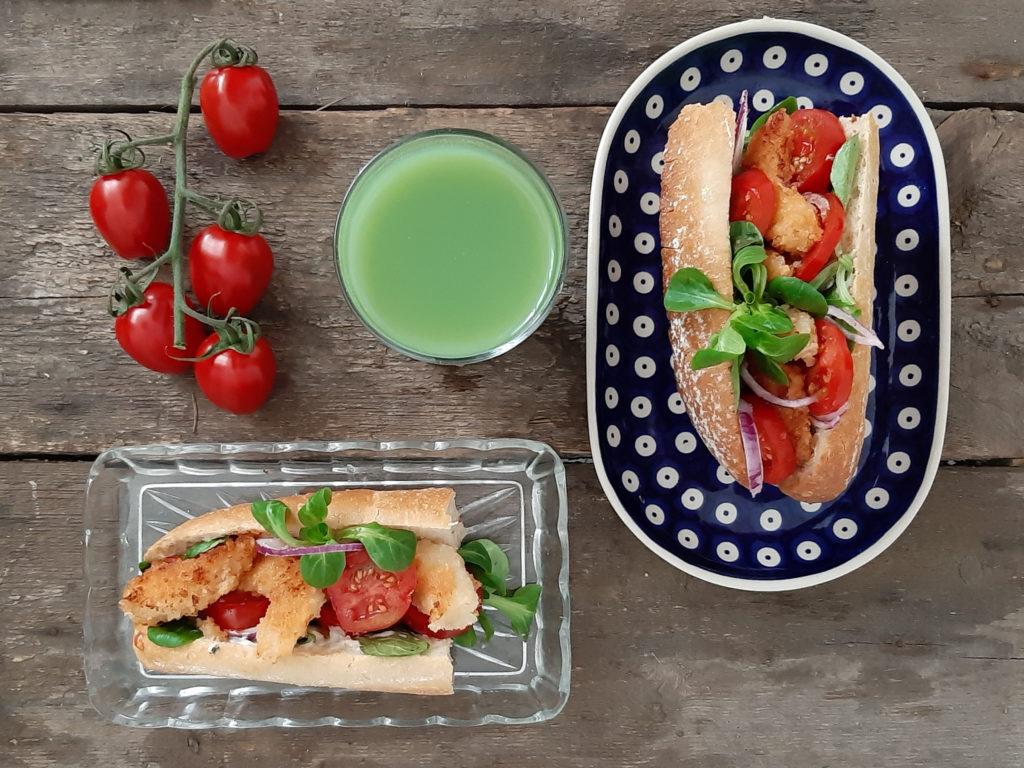 Przepis na kanapkę z krewetkami w panierce shrimp po boy