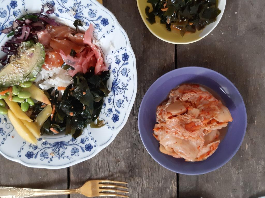 Przepis na sałatkę z glonów wakame