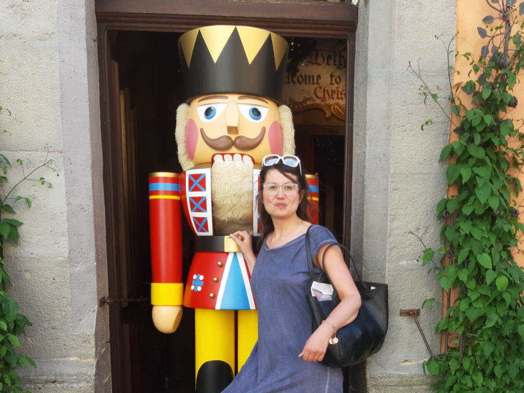 Rothenburg ob der Tauber dziadek do orzechów