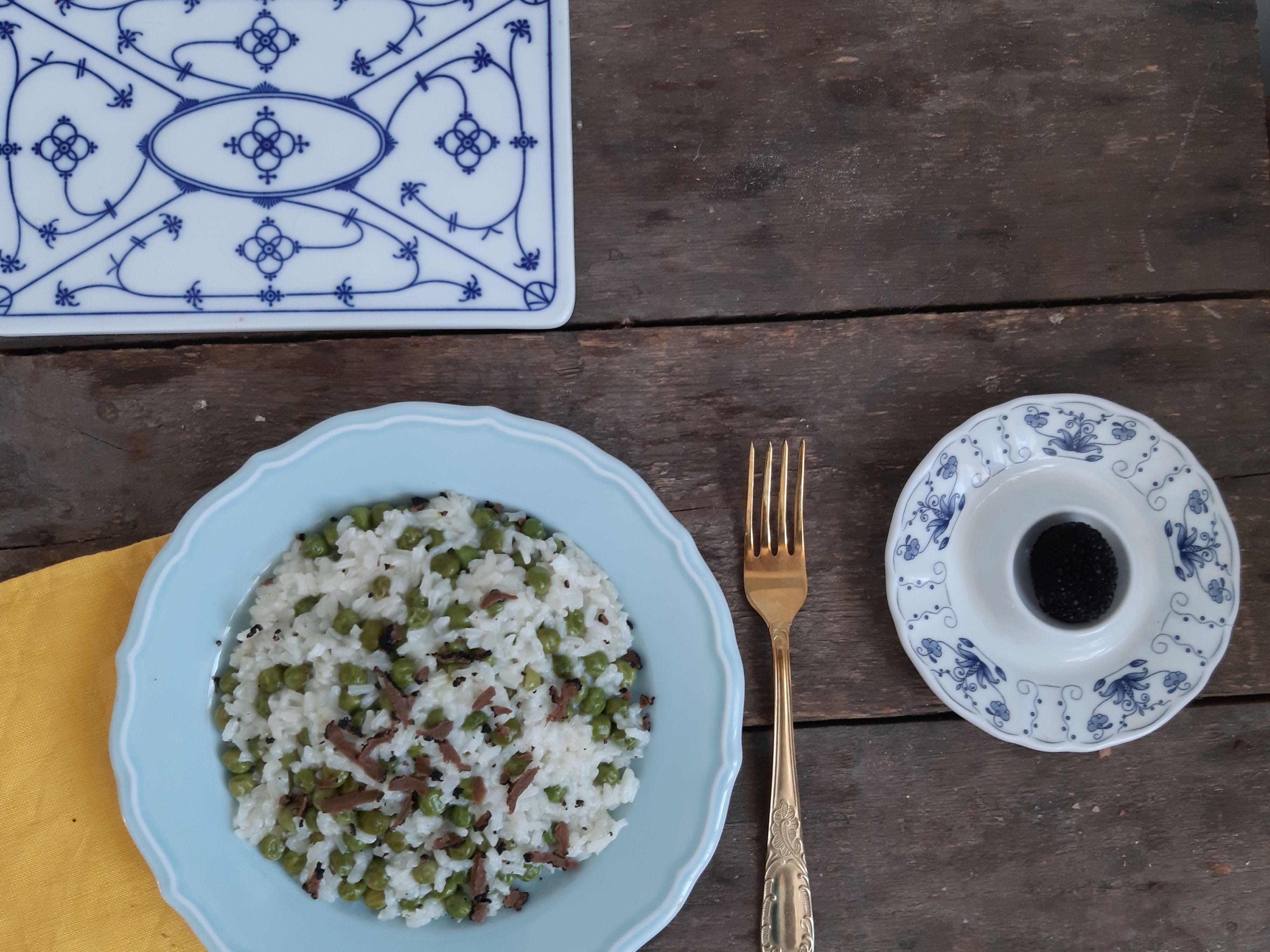 Letnie przepisy: risotto z groszkiem i truflami oraz perskie lody