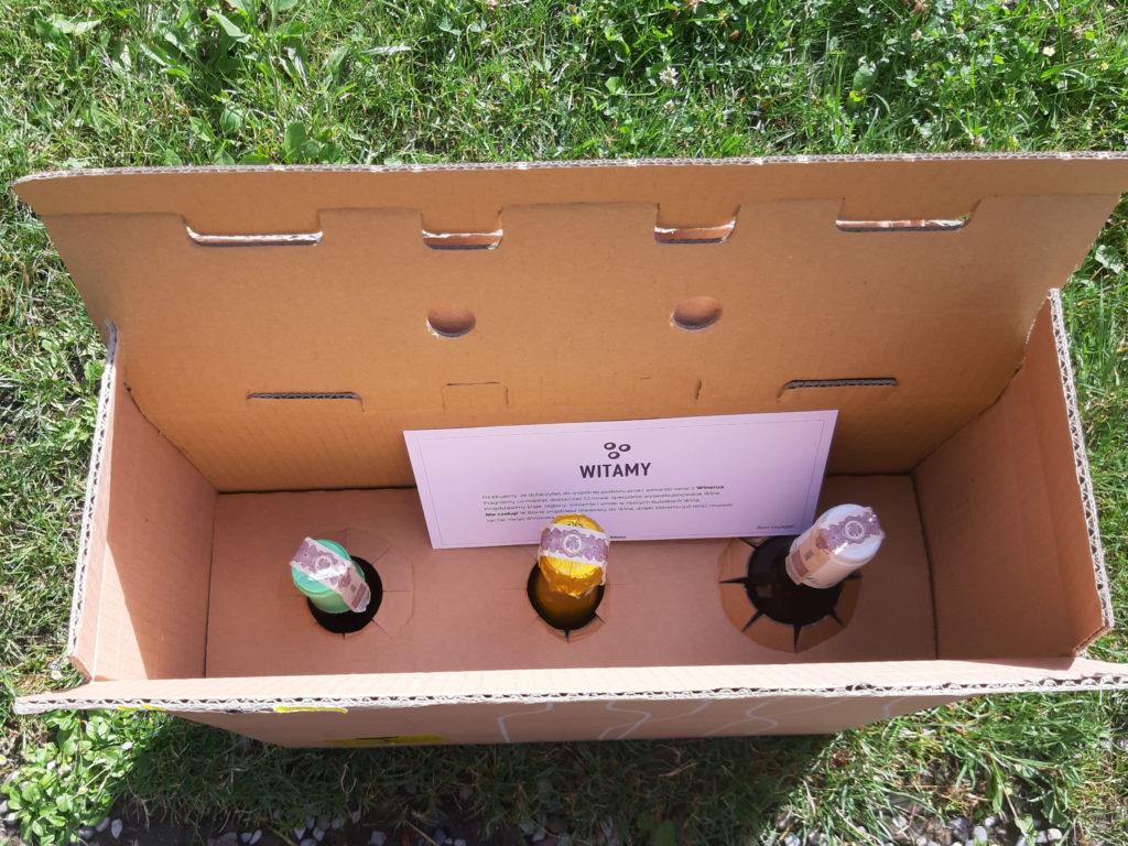 Winerua - Box z winem