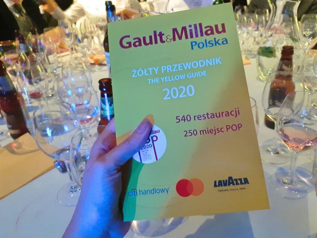 żółty przewodnik Gault Millau Polska