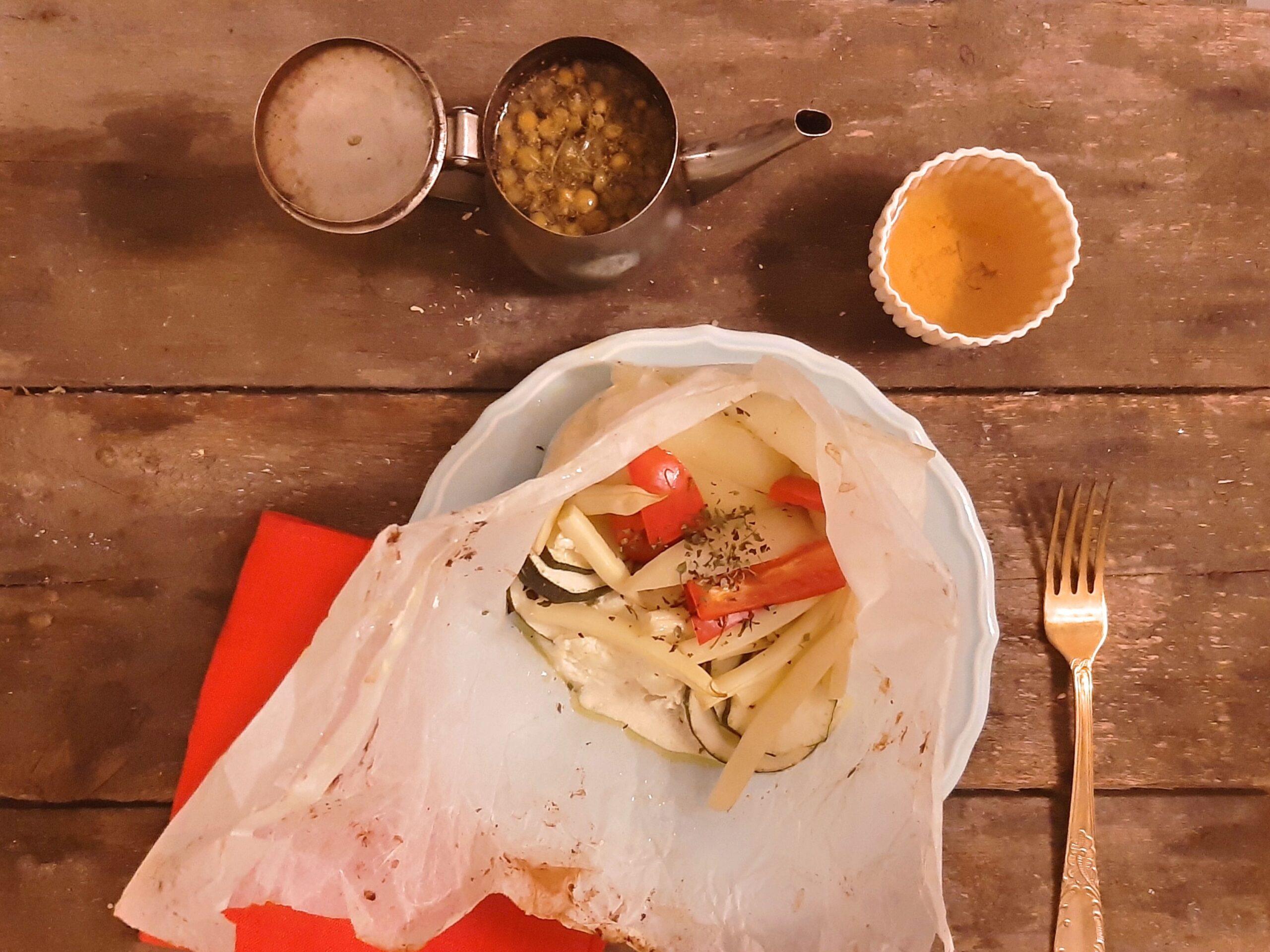 Zdrowy niedzielny obiad wstylu greckim